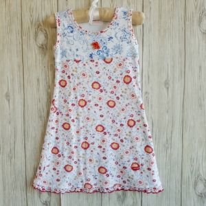 Baby Nay Floral Summer Knit Dress Size 3T